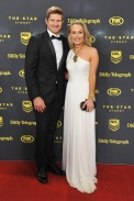 SHANE WATSON & LEE FURLONG DALLY M AWARDS 2015 THE DARLING, THE STAR & STAR EVENT CENTRE, PYRMONT MONDAY 28TH SEPTEMBER, 2015 PHOTOGRAPHER: BELINDA ROLLAND © 2015